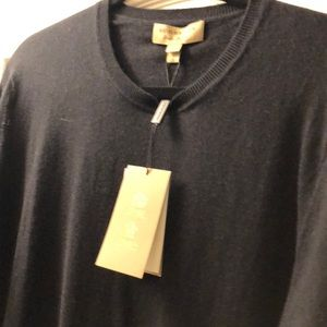 Men's Burberry sweater new with tags